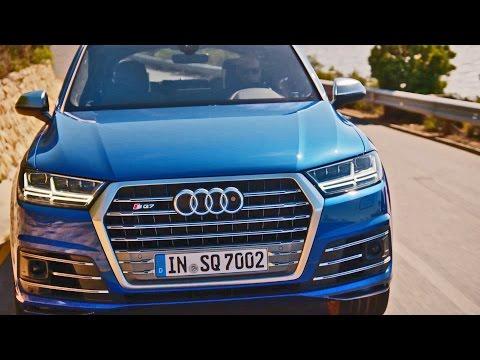 Audi  SQ7 TDI Паркетник класса J - рекламное видео 3