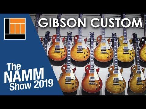 L&M @ NAMM 2019: Gibson Custom Shop Guitars