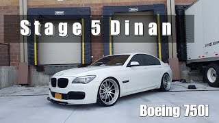 BMW 750i with Stage 5 Dinan & much more