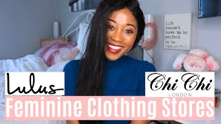 Best Stores For Feminine Clothing