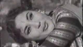 Chand (1959): Ay baadalon rimjhim ke rang liye - YouTube