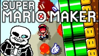 THIS CRAZNESS IS GIVING ME A BAD TIME!! | Super Mario Maker | Your Course Submissions