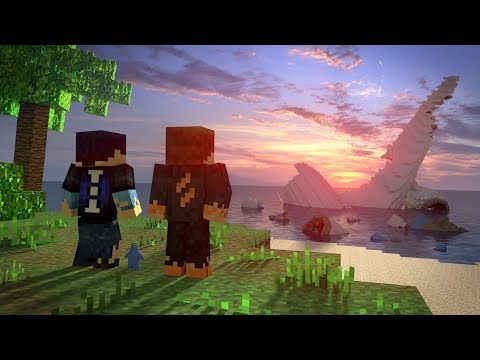 Survival Island (Minecraft Animation)