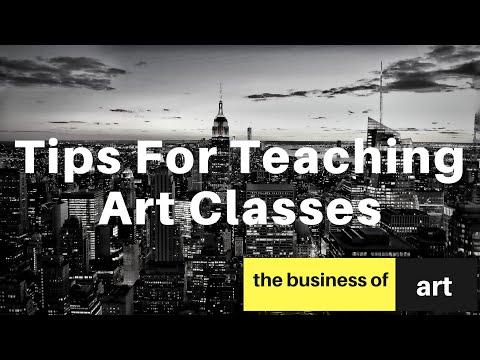 Tips for Teaching Art Classes