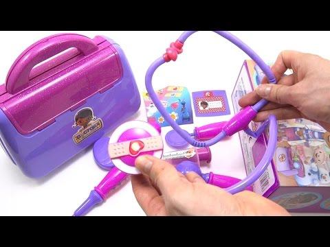 Maletin De La Doctora Juguetes Doc McStuffins Playset Set De Instrumentos Medicos Para Niñas Luces