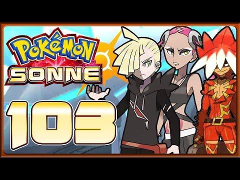 POKÉMON SONNE Part 103: Champ-Herausforderungen von Ryuki, Hapu'u, Fran, Gladio & Marlon