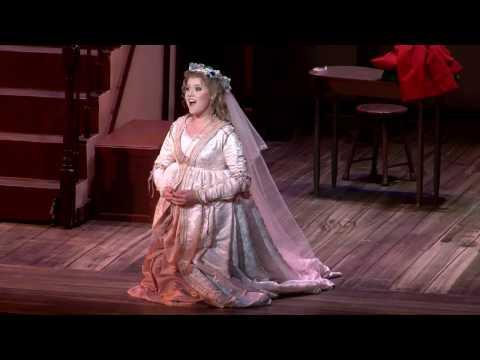 Die lustigen Weiber von Windsor, Otto Nicolai Boston Conservatory Opera Maestro: Dr. Andrew Altenbach Anna Reich: Alyssa Click, soprano