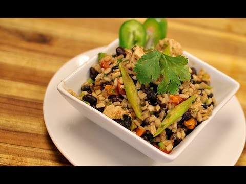 Southwestern Chicken and Barley – how to cook barley – dinner recipes – healthy lunch – weight loss