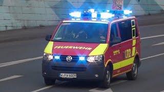preview picture of video 'Einsatzfahrten der Berufsfeuerwehr (BF) Wuppertal Hauptfeuerwache (Zusammenschnitt) (HD)'