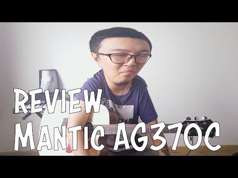 Đàn Guitar Acoustic Mantic AG 370C