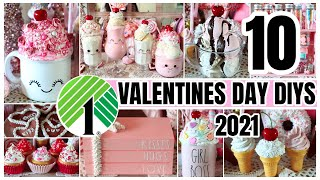 AMAZING DOLLAR TREE VALENTINES DAY DIYS│ YOU'LL LOVE THESE CLEVER DOLLAR STORE HACKS