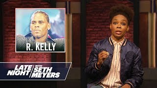 Amber's Minute of Fury: R. Kelly
