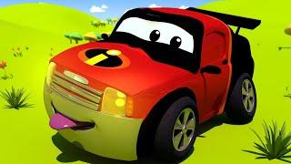 Autogaráž pro děti - Z Matta je Mr. Úžasný - Tomova Autolakovna ve Městě Aut
