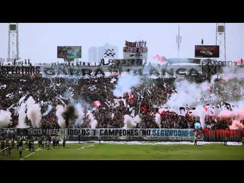 """""""GARRA BLANCA ARENGAZO 05 MARZO 2016"""" Barra: Garra Blanca • Club: Colo-Colo"""