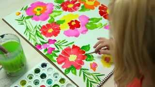 Lilly Pulitzer Making Of A Print Summer 2012