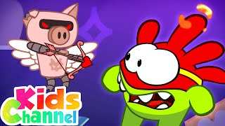 Cupid's Arrows | Om Nom Cartoon Videos | Stories for Babies from Kids Channel