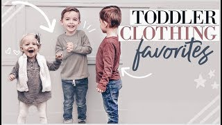 TODDLER CLOTHING FAVORITES | How I Save $$$ On Kids Clothes | Tips And Tricks For Boys And Girls