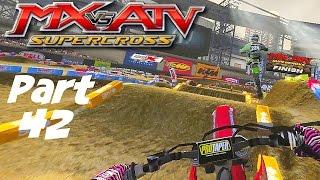 MX Vs ATV Supercross!   GameplayWalkthrough   Part 42   Aggressive Pass, I Like It!