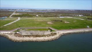 Fort Travis Port Bolivar Galveston County by William comeaux