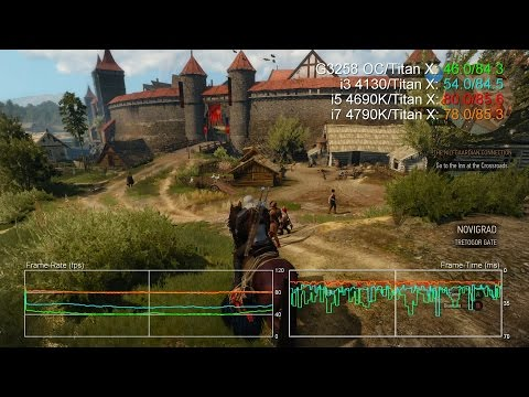 What is up with performance in large cities? :: The Witcher 3: Wild