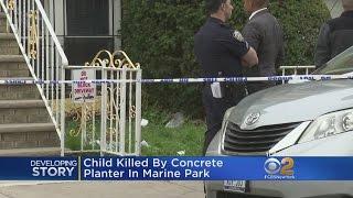 Boy, 8, Killed By Falling Planter