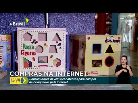 Governo alerta consumidores para compras de brinquedos pela internet