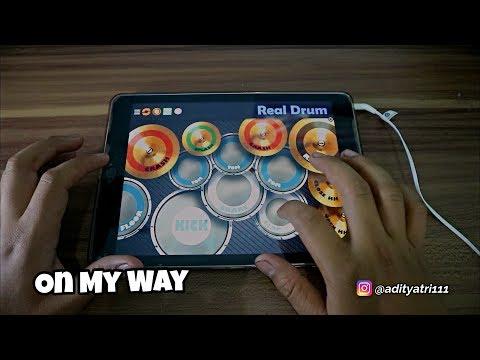RealDrum - On My Way PUBG Theme Song - Alan Walker