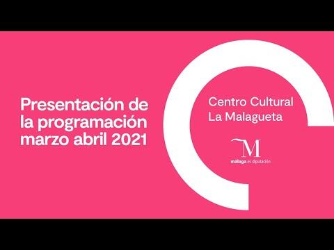 Presentación de la programación del Centro Cultural La Malagueta de marzo y abril