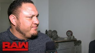 Samoa Joe isn't afraid of Brock Lesnar tonight: Exclusive, June 12, 2017