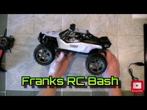 Tozo C2035 RC Dune Buggy   Unboxing, Review, Road Test