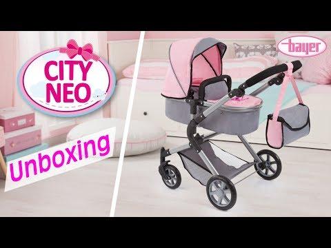 City Neo - Dolls Pram - Puppenwagen - Unboxing - Bayer Design