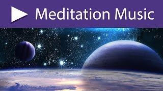 Meditation Room 8 HOURS Ambient Music for Therapy with Space Exploration Sounds, White Noise ★ 030
