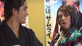 北村一輝、LiLiCoとの共演に「正直、食べられそうでした」映画「猫侍南の島へ行く」完成披露試写会会見1#KazukiKitamura#LiLiCo