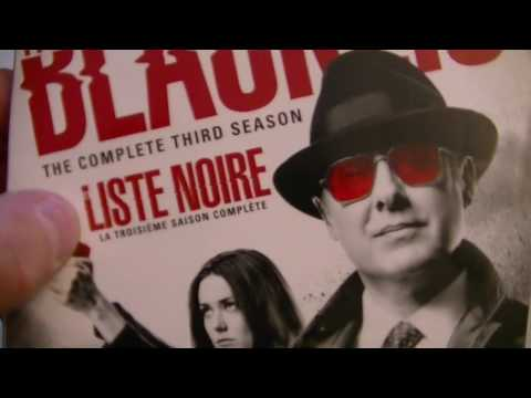Présentation (unboxing) The Blacklist season 3 en DVD