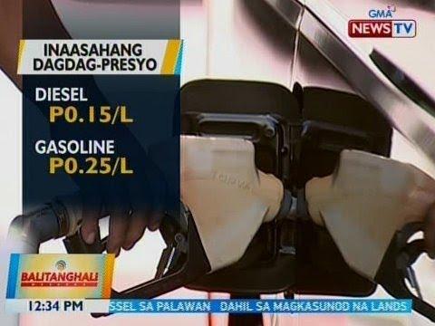 [GMA]  BT: Presyo ng produktong petrolyo, posible na namang tumaas