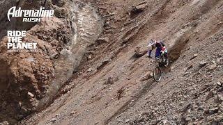 Посреди ледников. Экстремальный маунтинбайк RideThePlanet и Adrenaline Rush в диких условиях!
