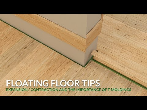 Floating Floor Tips – How To Plan for Expansion and Contraction