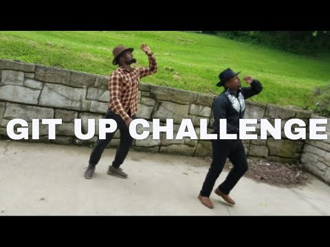 The Git Up Challenge - Blanco Brown | Cameron Cole #hillbillytime