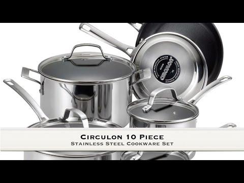 Circulon 10 piece Cookware Set