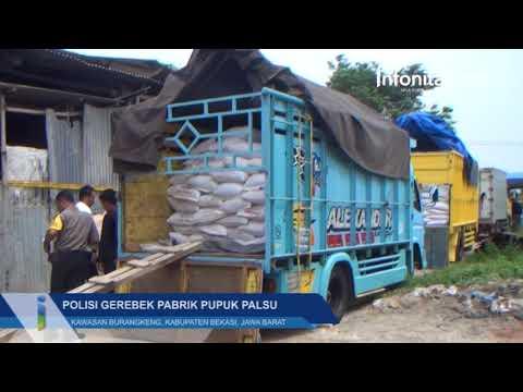 Polisi Gerebek Pabrik Pupuk Palsu di Bekasi