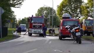 preview picture of video 'Hochwasser Groitzsch (Sachsen) 5.6.2013'
