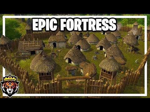 Building an EPIC Fortress in Dawn of Man Gameplay Ep 6