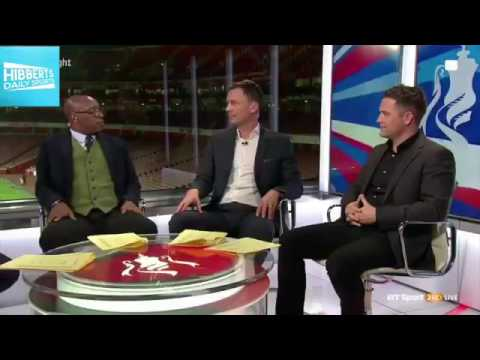 Ian Wright Shuts Down Michael Owen And Chris Sutton Never Gets Old