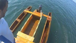 Чертежи поплавков из пенопласта для катамарана