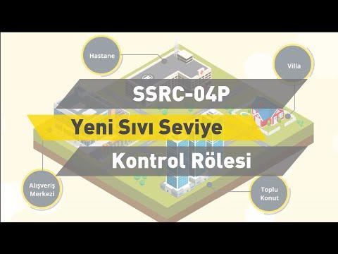ENTES SSRC - 04P Yeni Sıvı Seviye Kontrol Rölesi