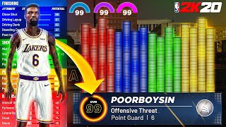 THE BEST GUARD BUILD ON NBA2K20? THE MOST POPULAR PG BUILD ON NBA2K20! PATCH 10 DRIBBLING GAMEPLAY!