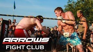 ARROWS American boy vs Russian street fighter