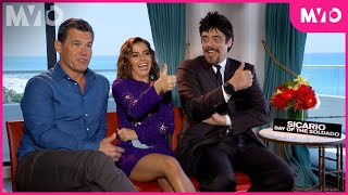 """The Cast of """"Sicario: Day of the Soldado"""" Play Thumbs Up, Thumbs Down   Sessions   The MVTO"""
