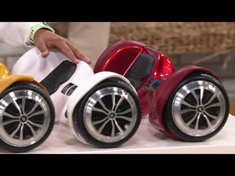 Swagtron T1 Self Balancing Hoverboard w/ LED Lights on QVC