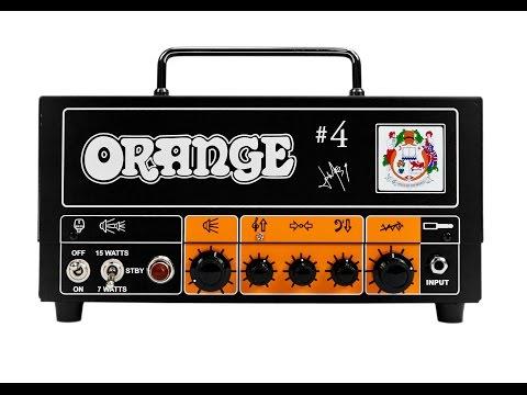 Orange Jim Root Signature Terror Class A Valve Guitar Amplifier Head 15 Watts